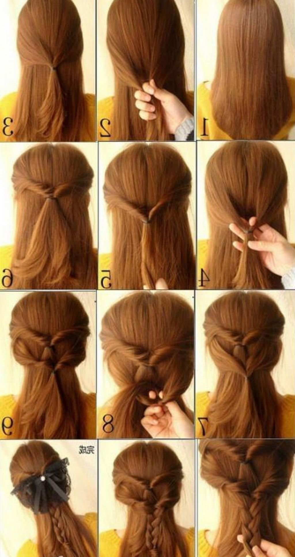 10 Elegant Cool Hair Ideas For Long Hair easy to do hairstyles for long hair best wedding updo ideas on 2021