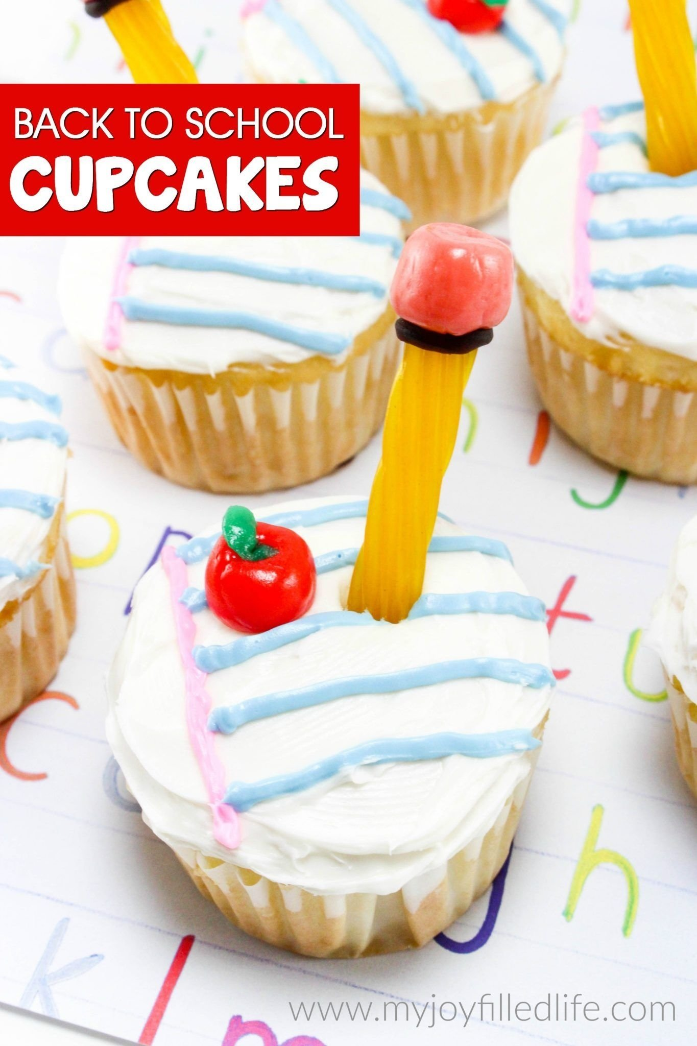 10 Lovely Back To School Cupcake Ideas easy to make back to school cupcakes school cupcakes food diary 2020