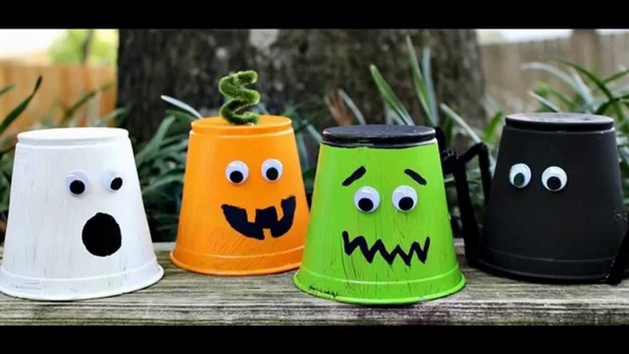 easy to make halloween arts and crafts for kids - youtube
