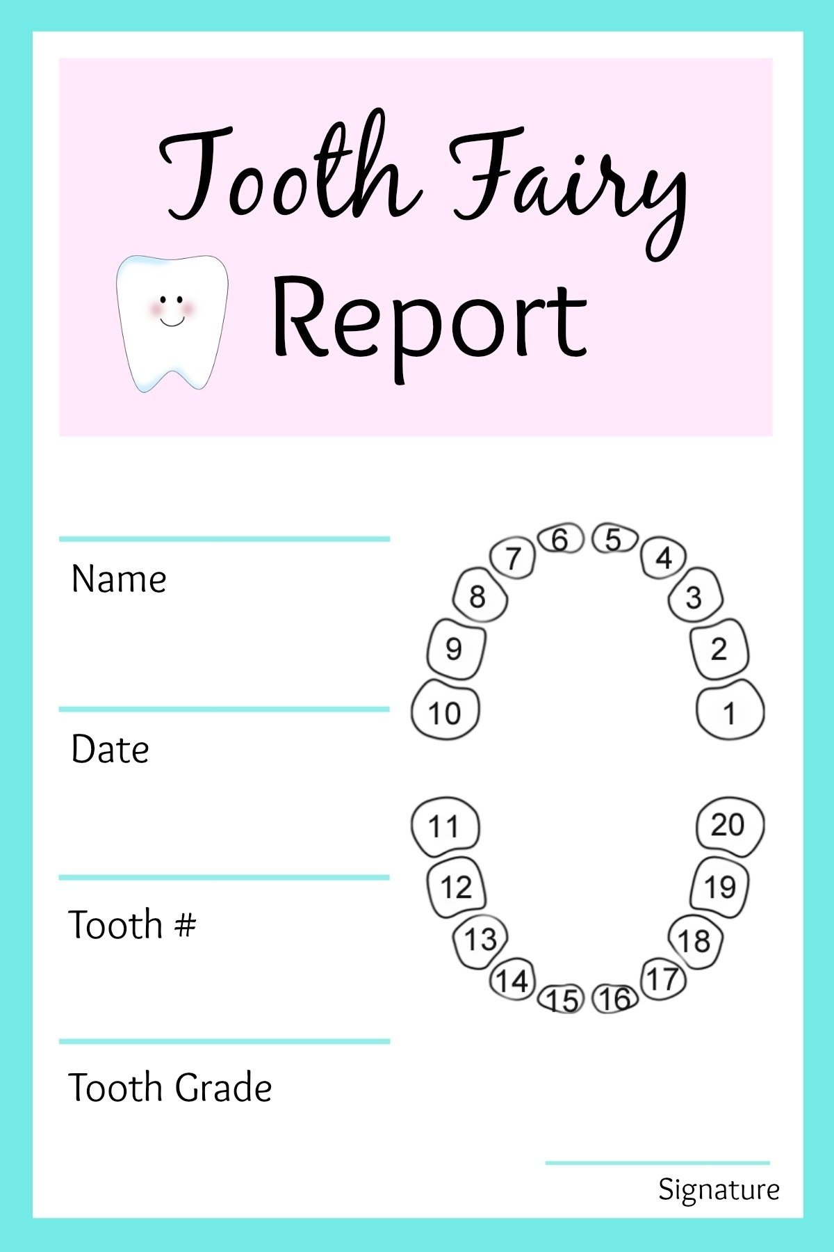 easy tooth fairy ideas & tips for parents / free printables