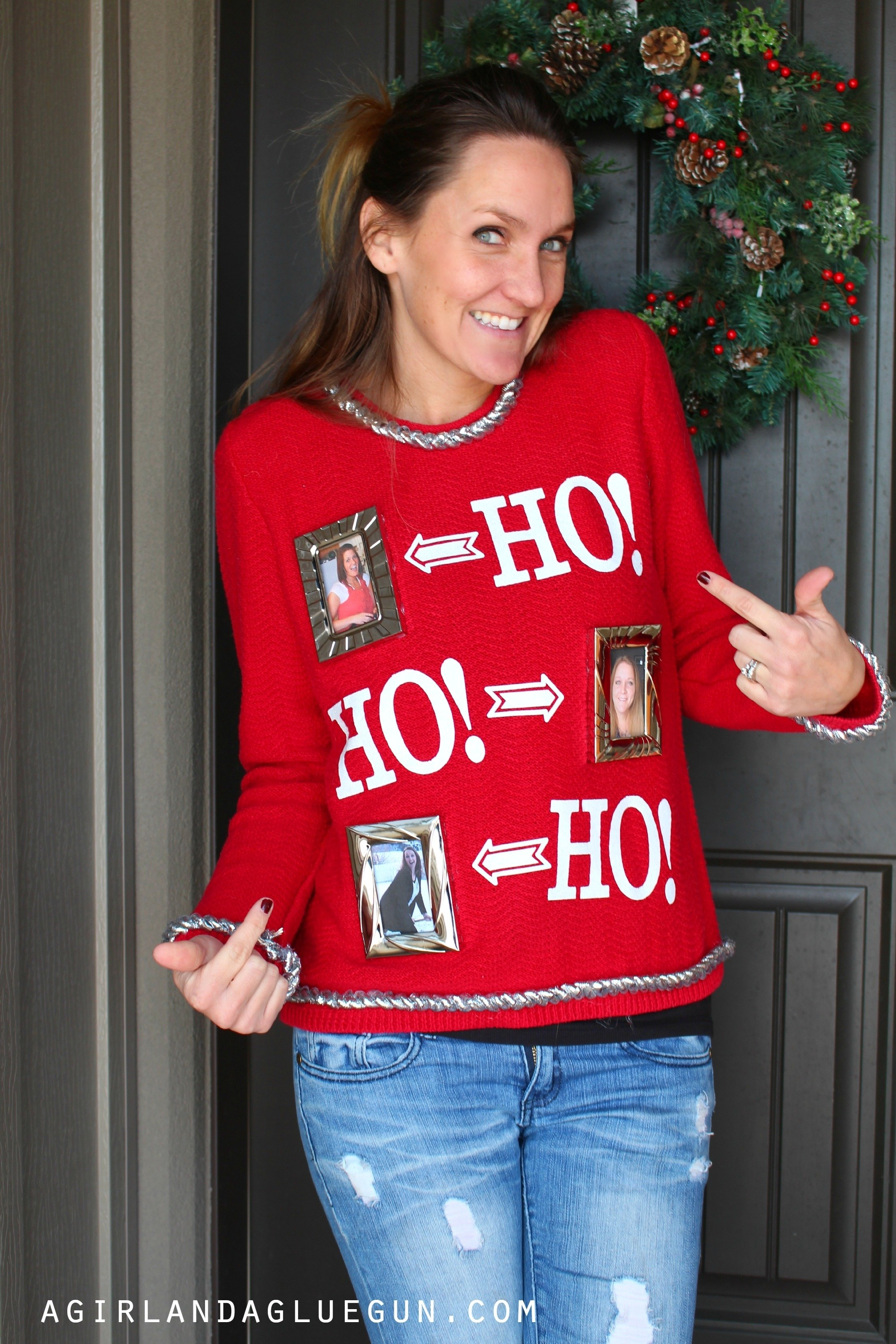 10 Stunning Ideas For Ugly Sweater Party easy ugly sweater a girl and a glue gun 2020