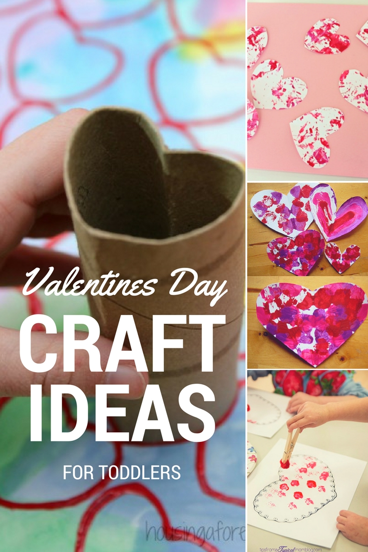 easy valentines day craft ideas for toddlers - roseyhome
