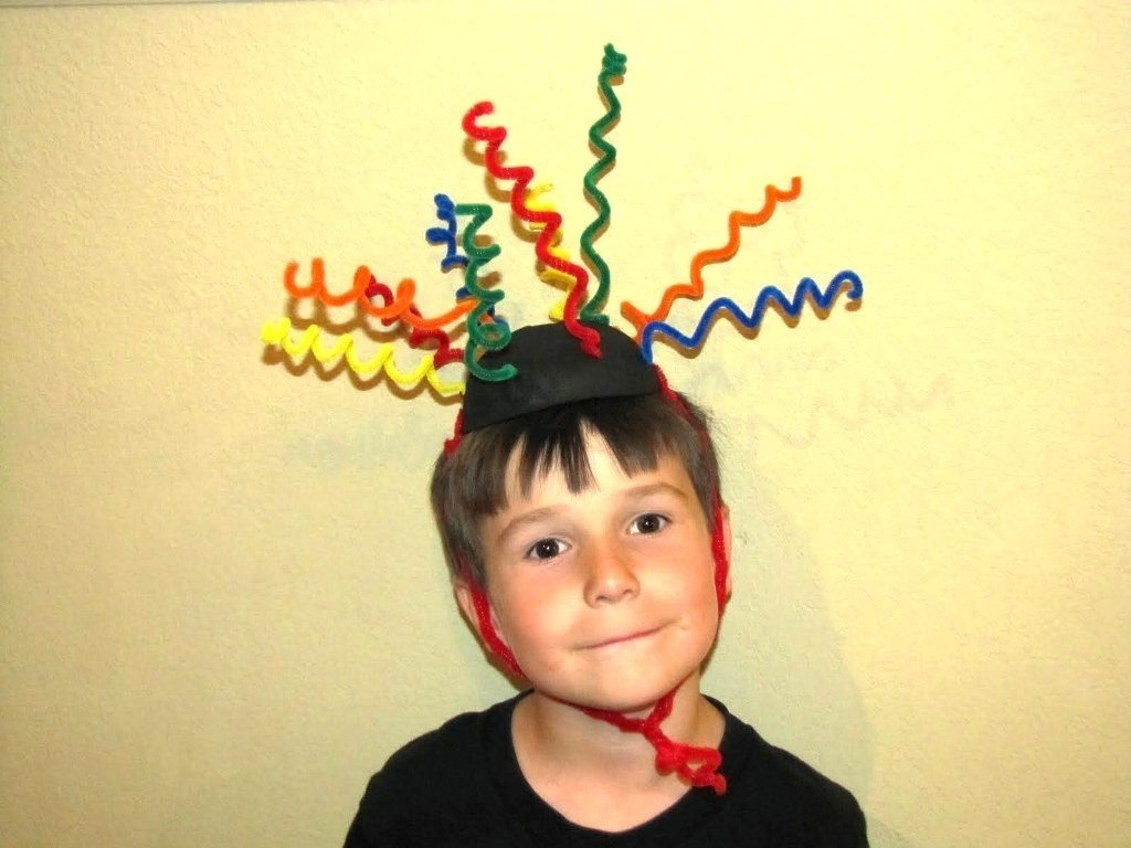 easy wacky hair day ideas for boys with short hair: crazy hair day