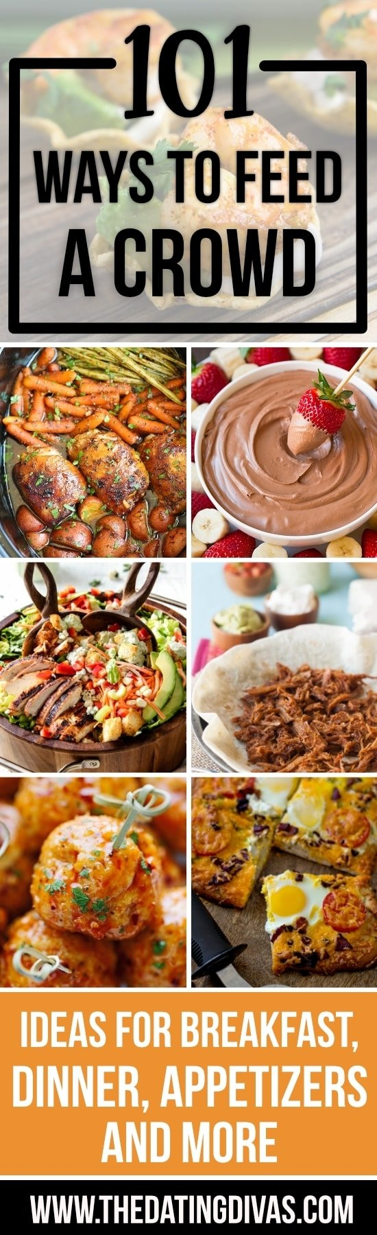 10 Fabulous Meal Ideas For A Crowd easy ways to feed a crowd from the dating divas 2