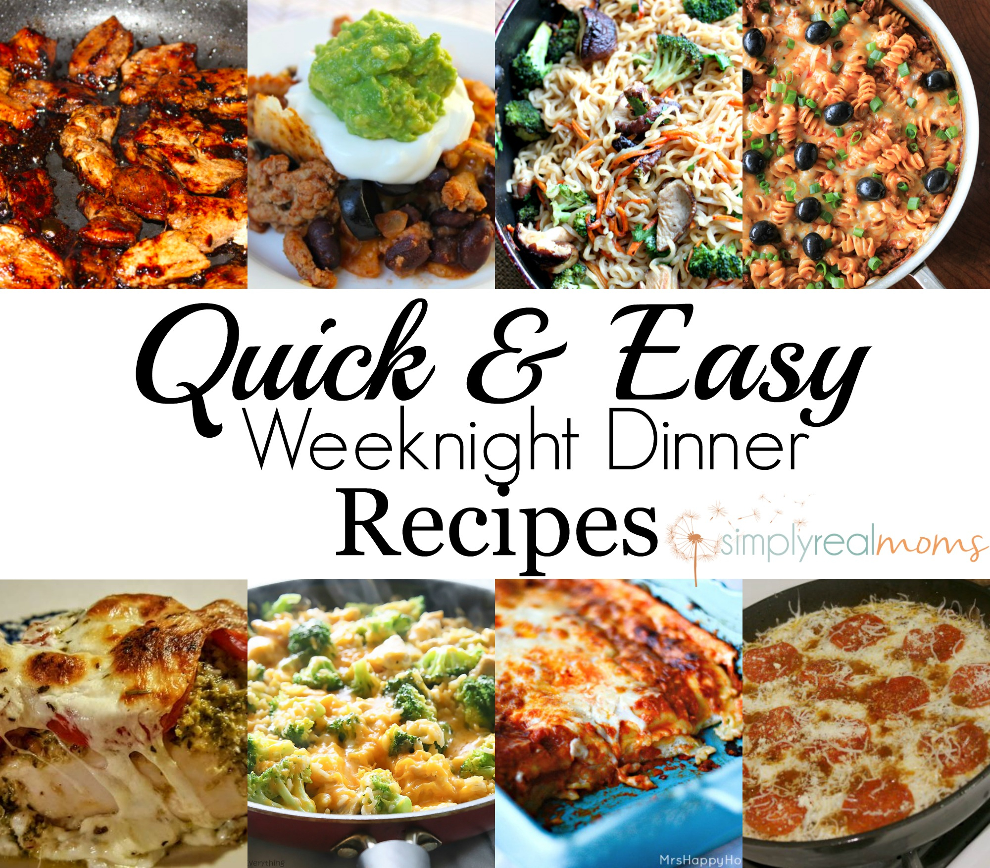 10 Elegant Simple Dinner Ideas For 1 easy weeknight dinner recipes simply real moms 2