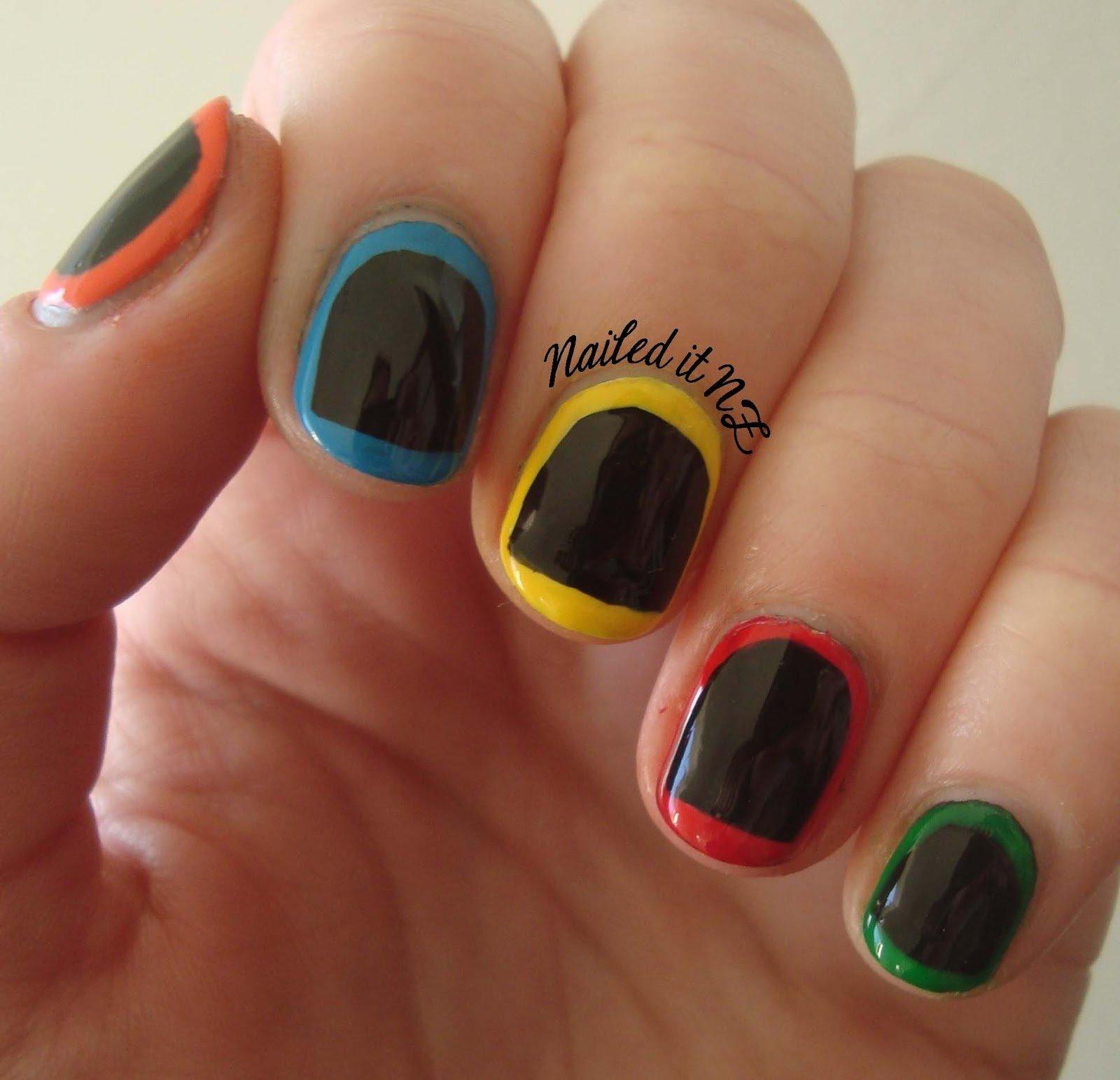10 Attractive Easy Nail Ideas For Short Nails easynaildesignsforshortnails nail art for short nails 2 2021