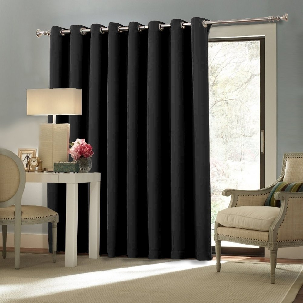 10 Amazing Sliding Glass Door Curtain Ideas elegance sliding patio door curtains grande room selecting 2020