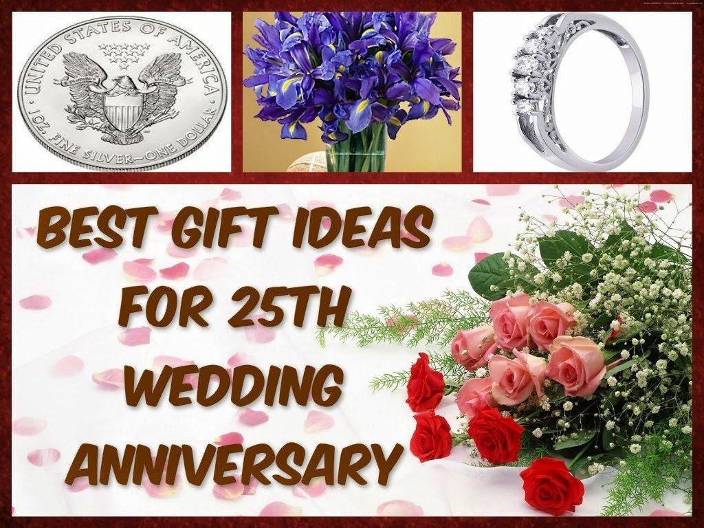 10 Fabulous 25 Wedding Anniversary Gift Ideas elegant 25 wedding anniversary gift ideas friends wedding gifts 2021