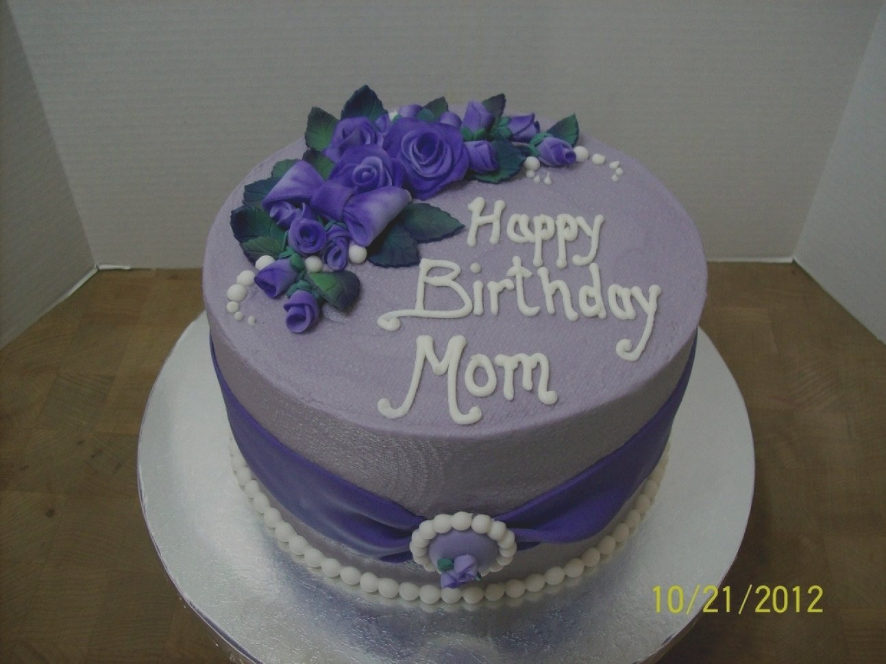10 Fashionable Birthday Cake Ideas For Mom elegant birthday cake ideas for mom designs fondant throughout the