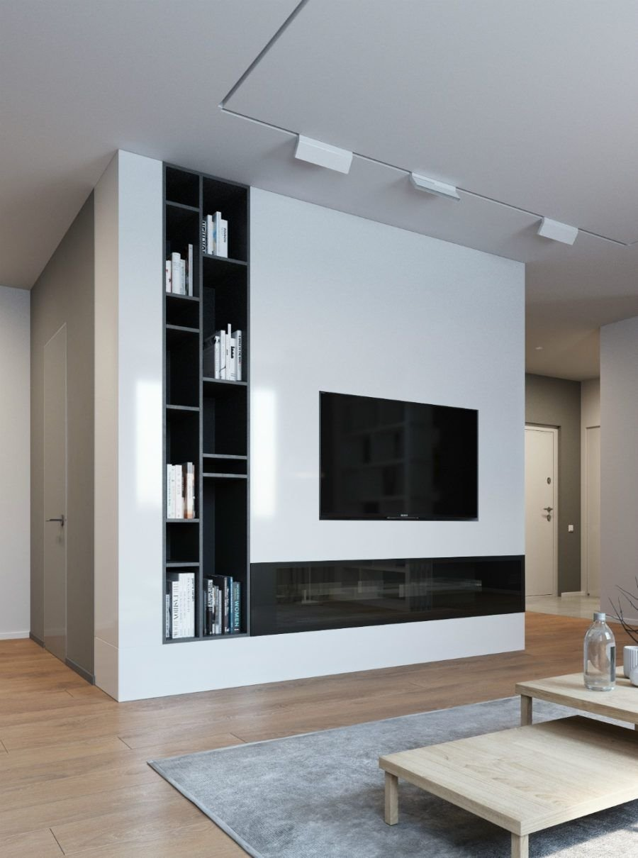 elegant, contemporary, and creative tv wall design ideas | tv wall