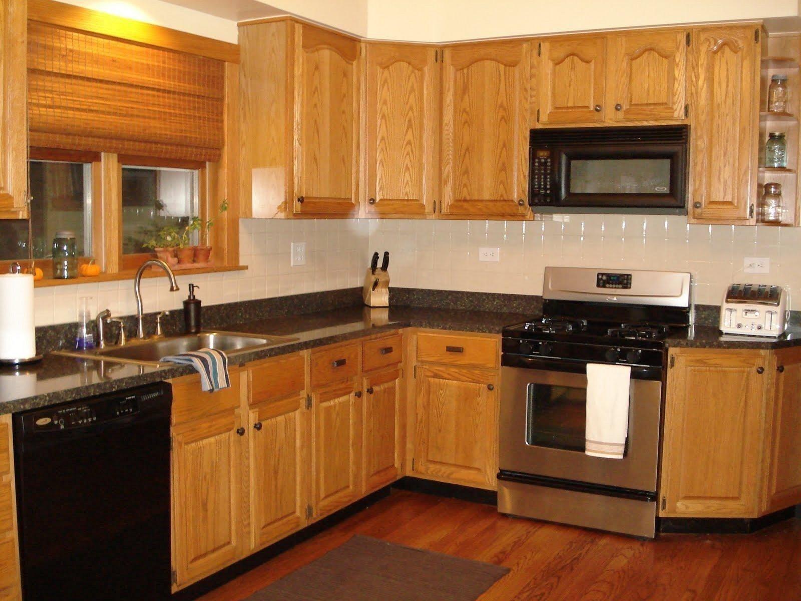 10 Best Kitchen Ideas With Oak Cabinets elegant oak cabinets kitchen ideas kitchen design ideas 2020