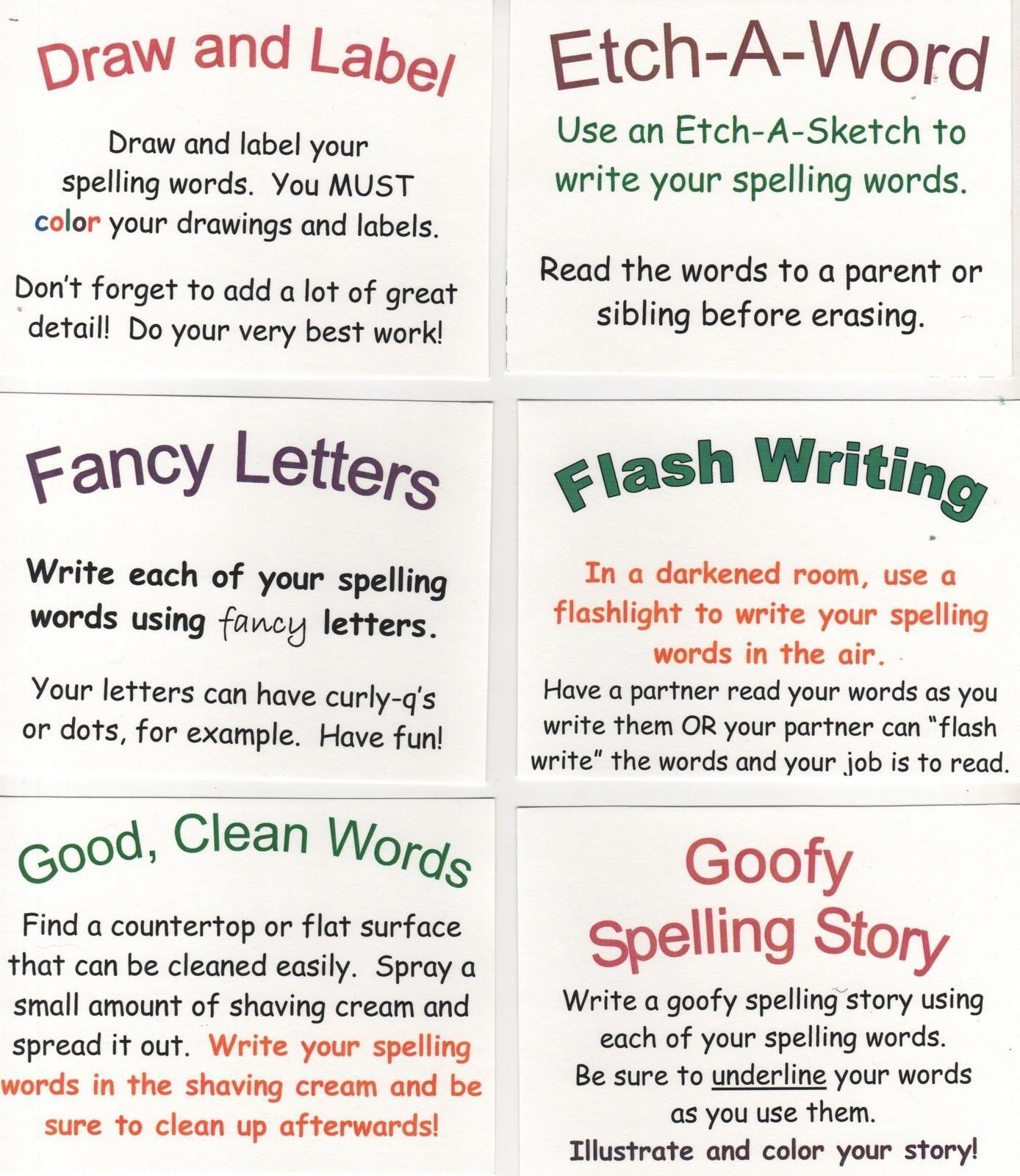 10 Lovely Enrichment Ideas For Elementary Students elementary school enrichment activities 72 spelling ideas 2 2020