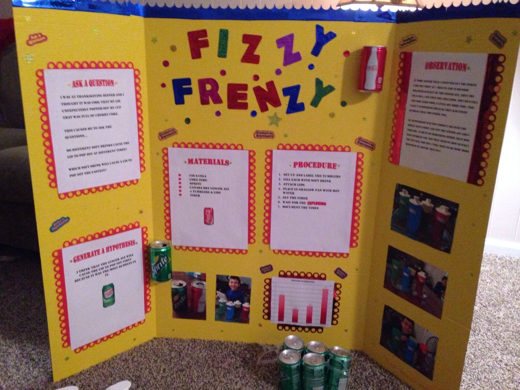 10 Awesome Science Fair Poster Board Ideas 2019