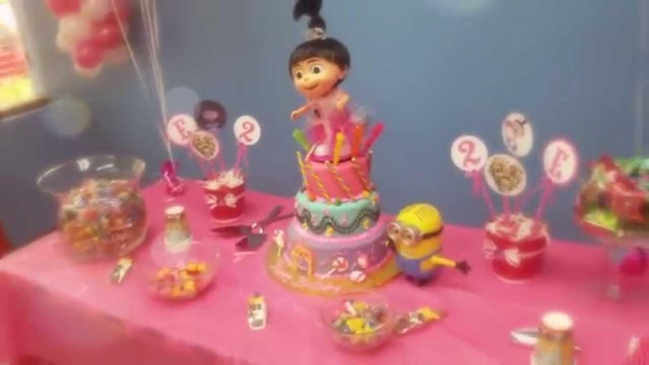 10 Nice Despicable Me 2 Birthday Party Ideas elenas despicable me 2nd birthday party youtube 2020