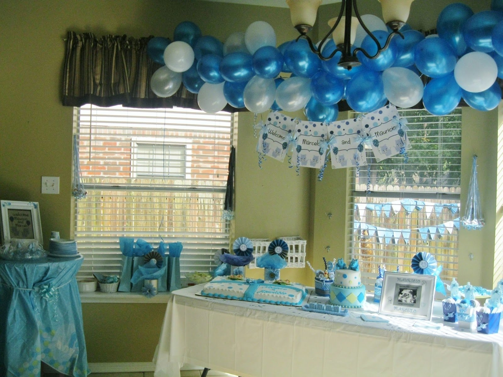 10 Elegant Baby Shower Decoration Ideas For Boys elephant baby shower decorations cakes excerpt boy themes loversiq 2