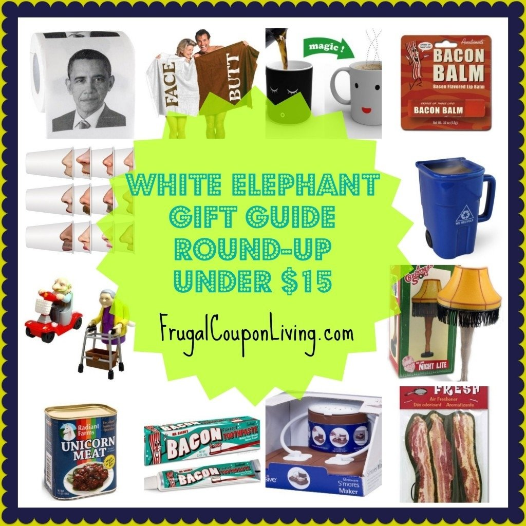 10 Pretty Ideas For White Elephant Gifts elephant gift guide round up under 15 2020