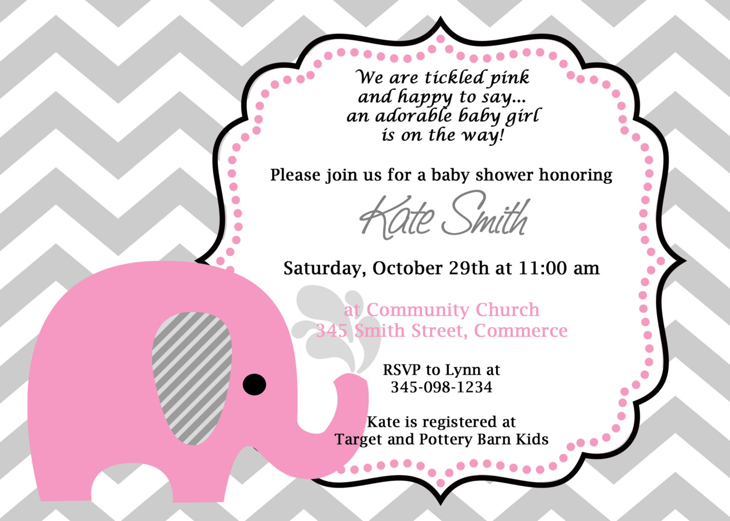 10 Nice Cute Ideas For Baby Shower Invitations elephant themed baby shower invitation wording e280a2 baby showers design