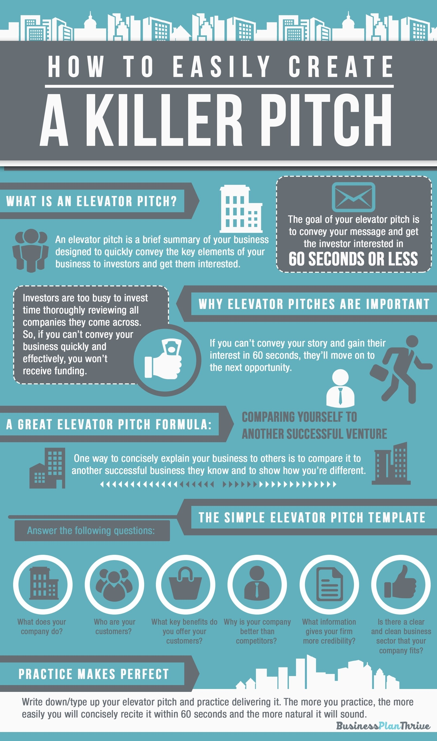10 Famous How To Pitch A Business Idea elevator pitch template infographic business pinterest pitch 2021