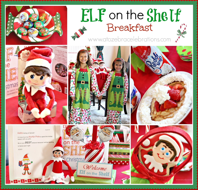 10 Best Elf On The Shelf Birthday Ideas elf on the shelf breakfast a to zebra celebrations