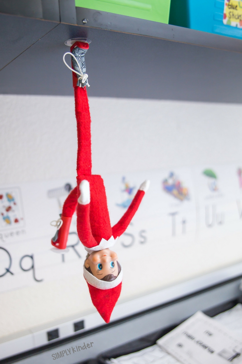 elf on the shelf classroom ideas - simply kinder