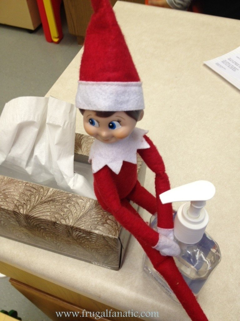 10 Stunning Ideas For Elf On Shelf elf on the shelf goes to school frugal fanatic 3
