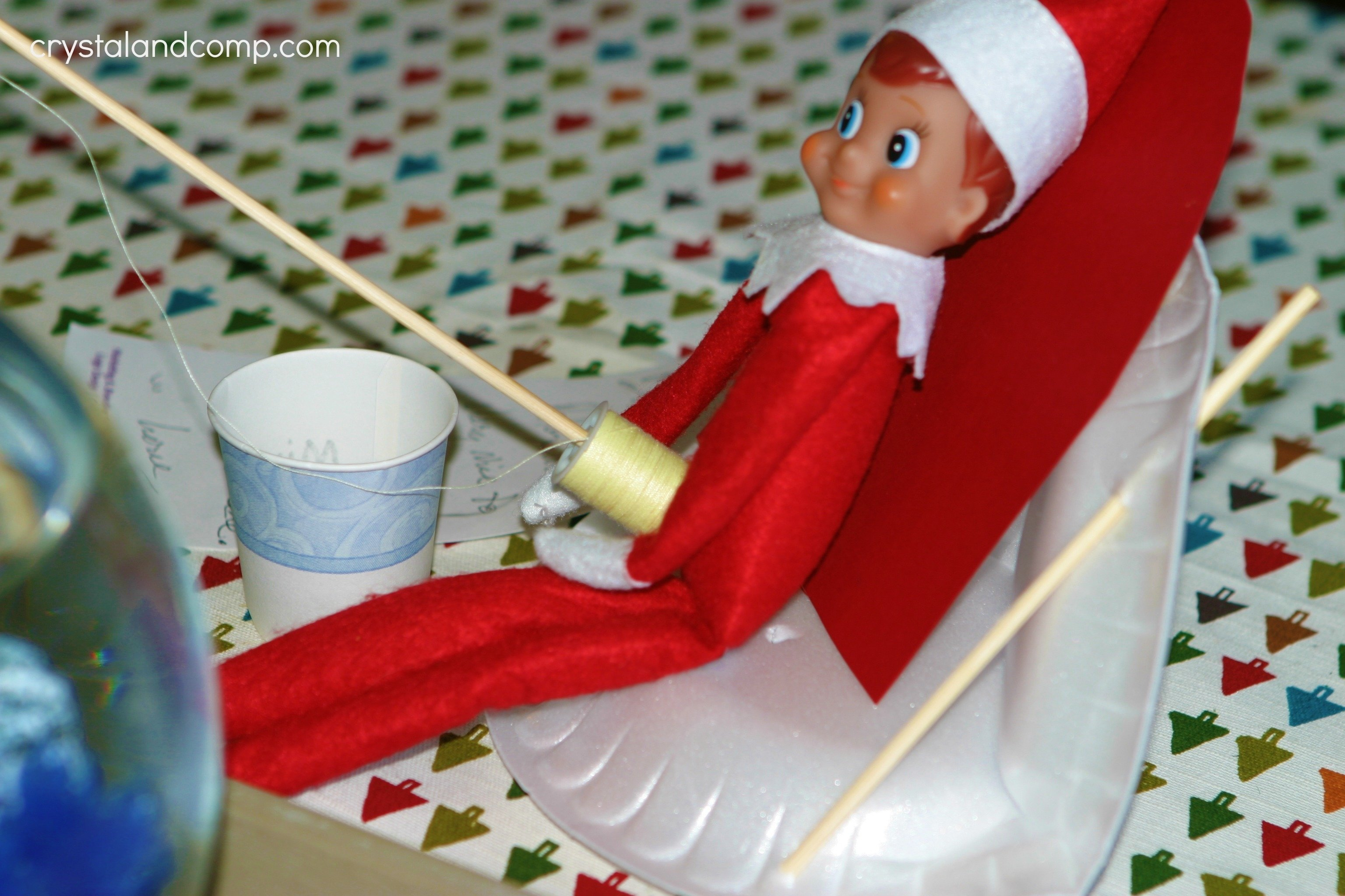 10 Elegant Pinterest Elf On The Shelf Ideas elf on the shelf gone fishing macgyver style crystalandcomp 2020