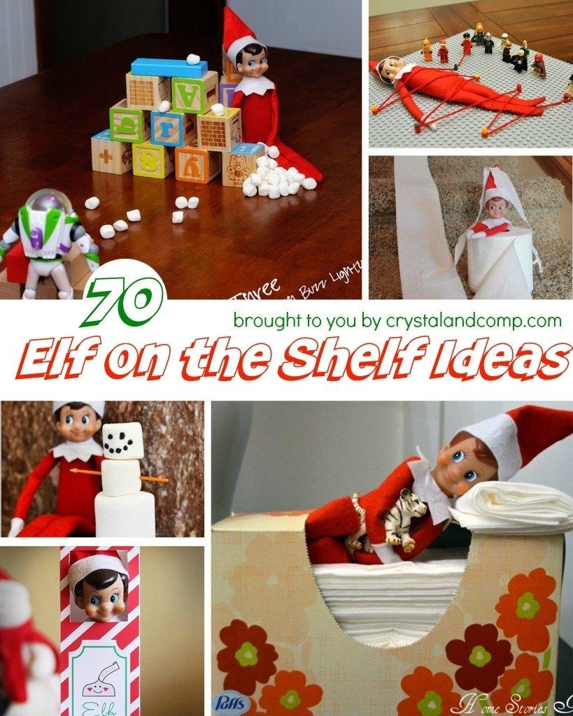 10 Stunning Ideas For Elf On Shelf elf on the shelf ideas 5