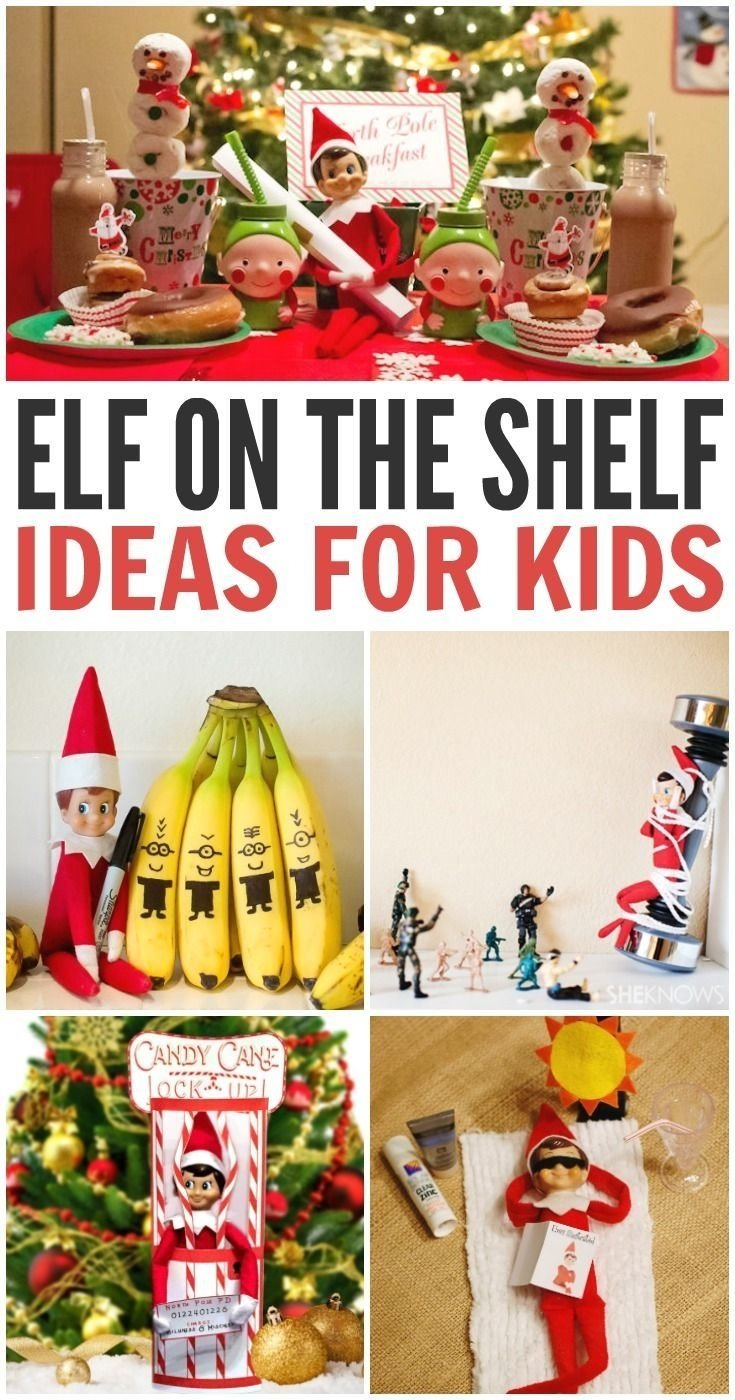 10 Fantastic Elf On The Shelf Ideas For Toddlers elf on the shelf ideas shelf ideas elves and shelves 1 2021