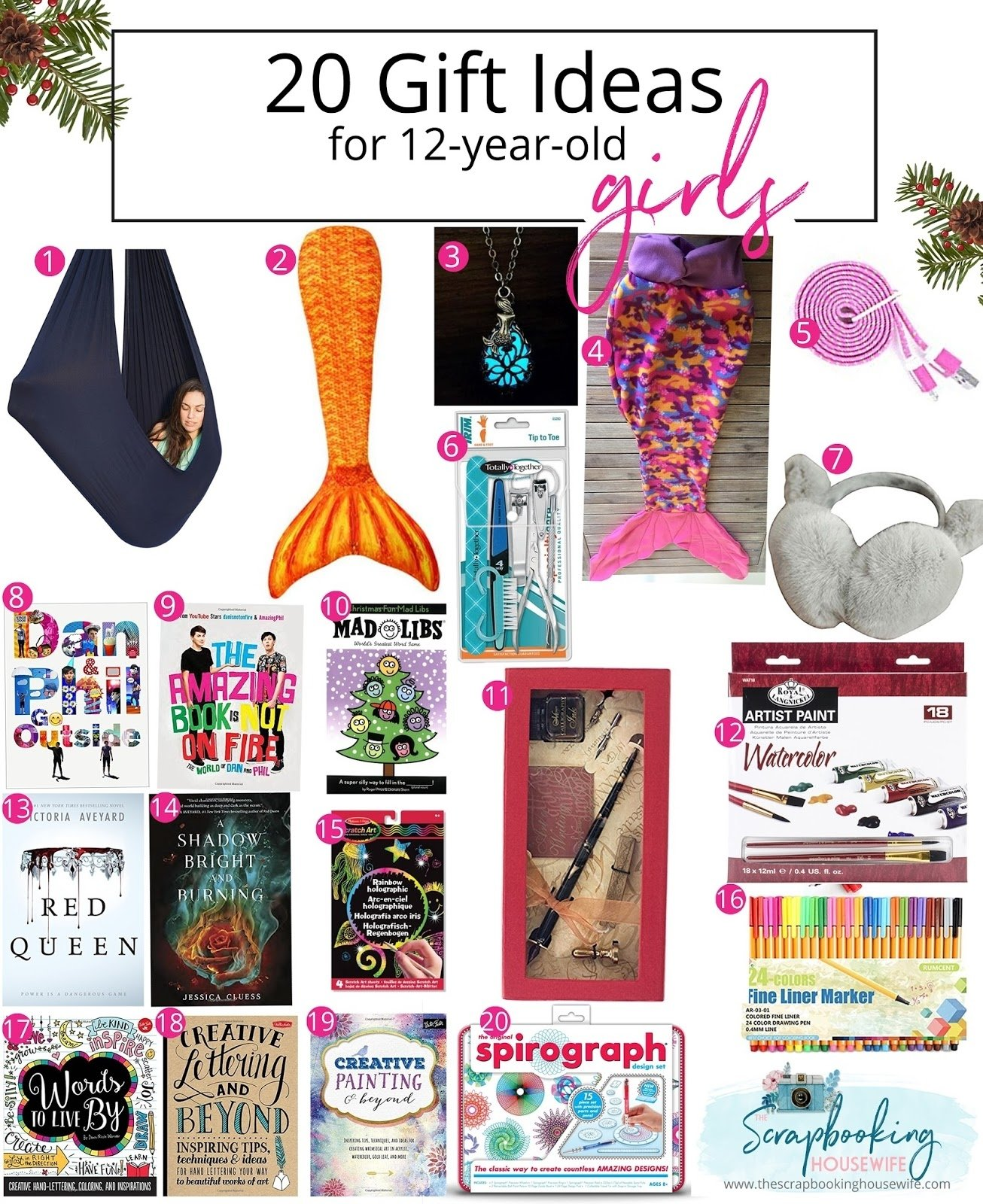 10 Fabulous Gift Ideas For A 12 Year Old Girl ellabella designs 20 gift ideas for 12 year old tween girls 19 2020