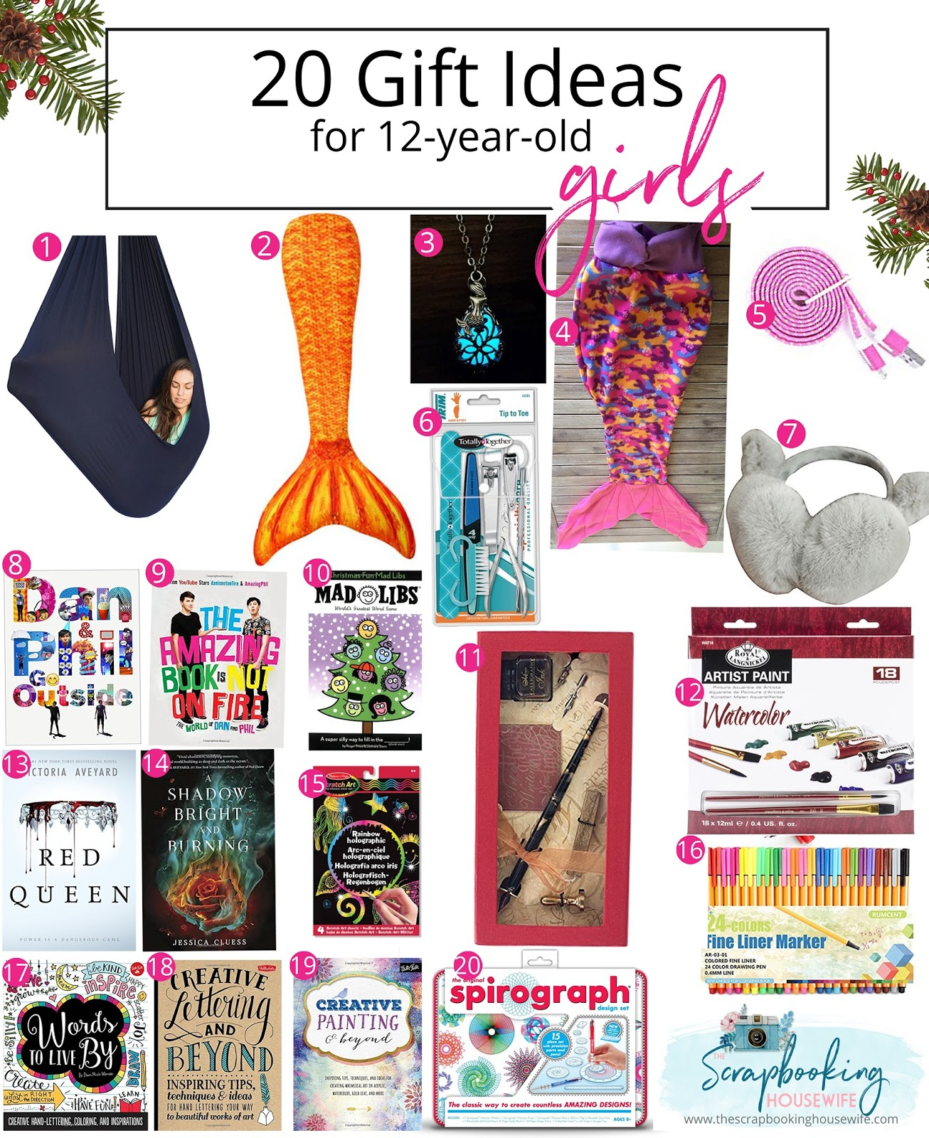ellabella designs: 20 gift ideas for 12-year-old tween girls gift guide