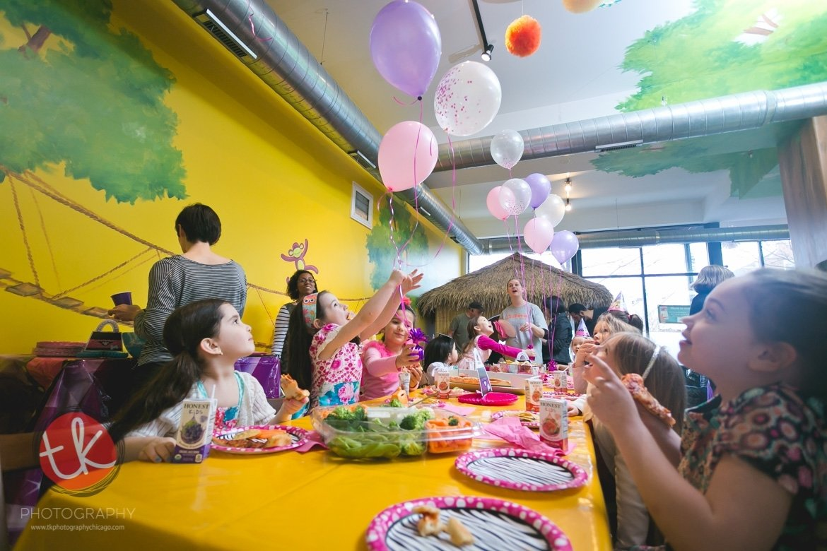 10 Lovable Fun Birthday Ideas In Chicago ellies 6th birthday party at purple monkey chicago birthday 2021