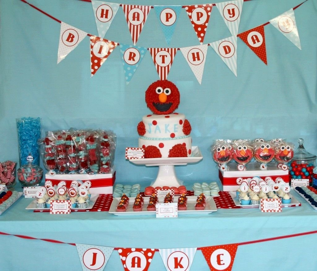 10 Wonderful Ideas For 2Nd Birthday Party elmo 2nd birthday party ideas decorating of party