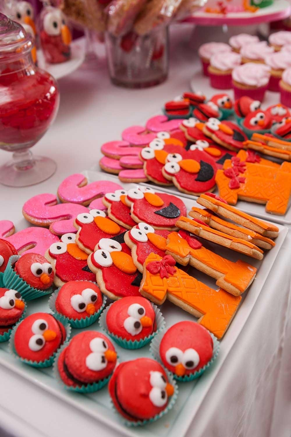 10 Great Elmo 2Nd Birthday Party Ideas Themed 1st Home