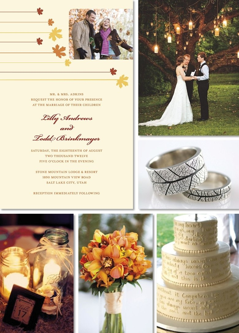 emejing simple wedding ideas for fall photos - styles & ideas 2018