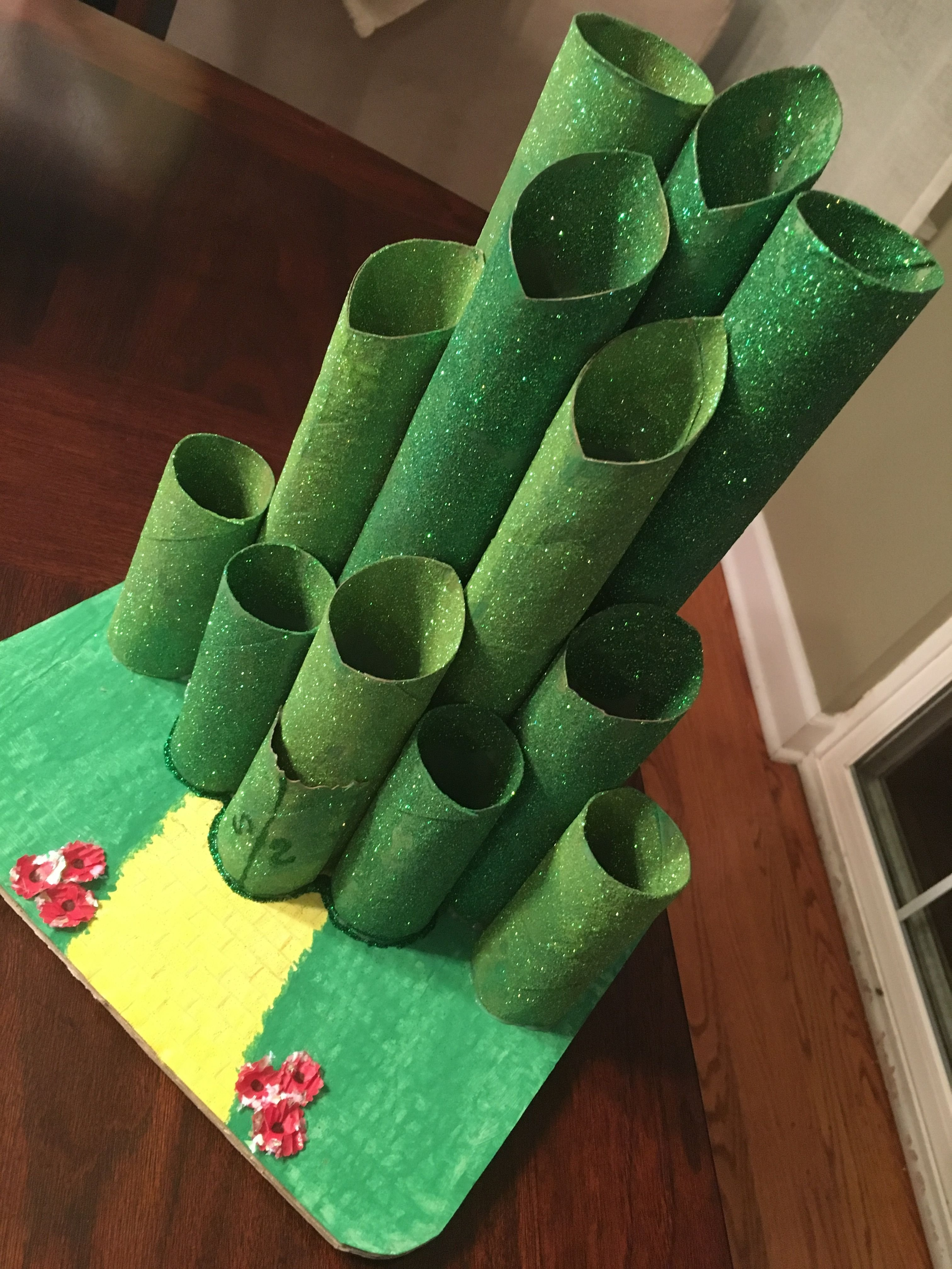 10 Awesome Wizard Of Oz Craft Ideas emerald city centerpiece for wizard of oz party emeraldcity 2020