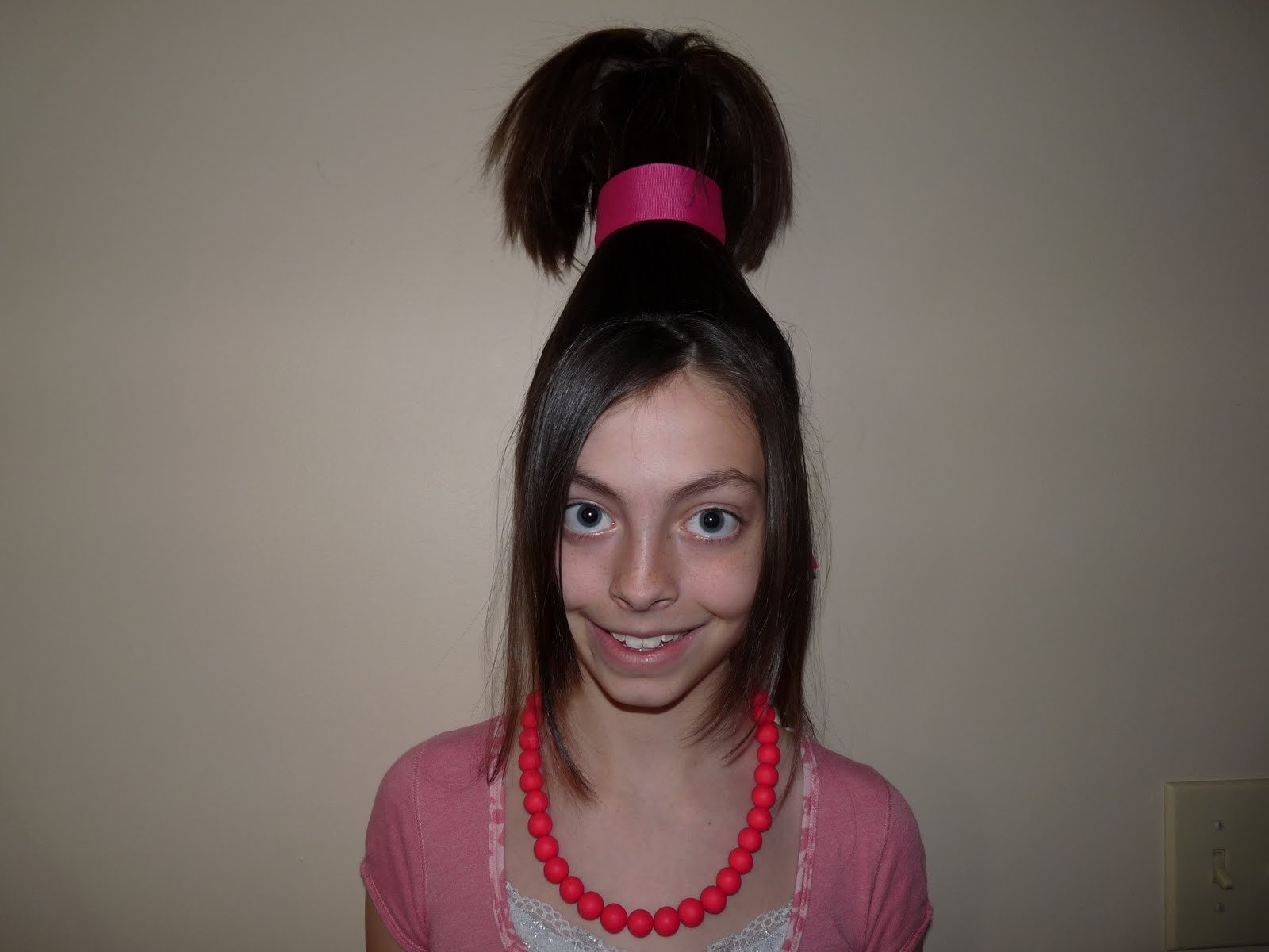 10 Most Recommended Crazy Hair Ideas For School emily had crazy hair day school she decided use sarah idea medium