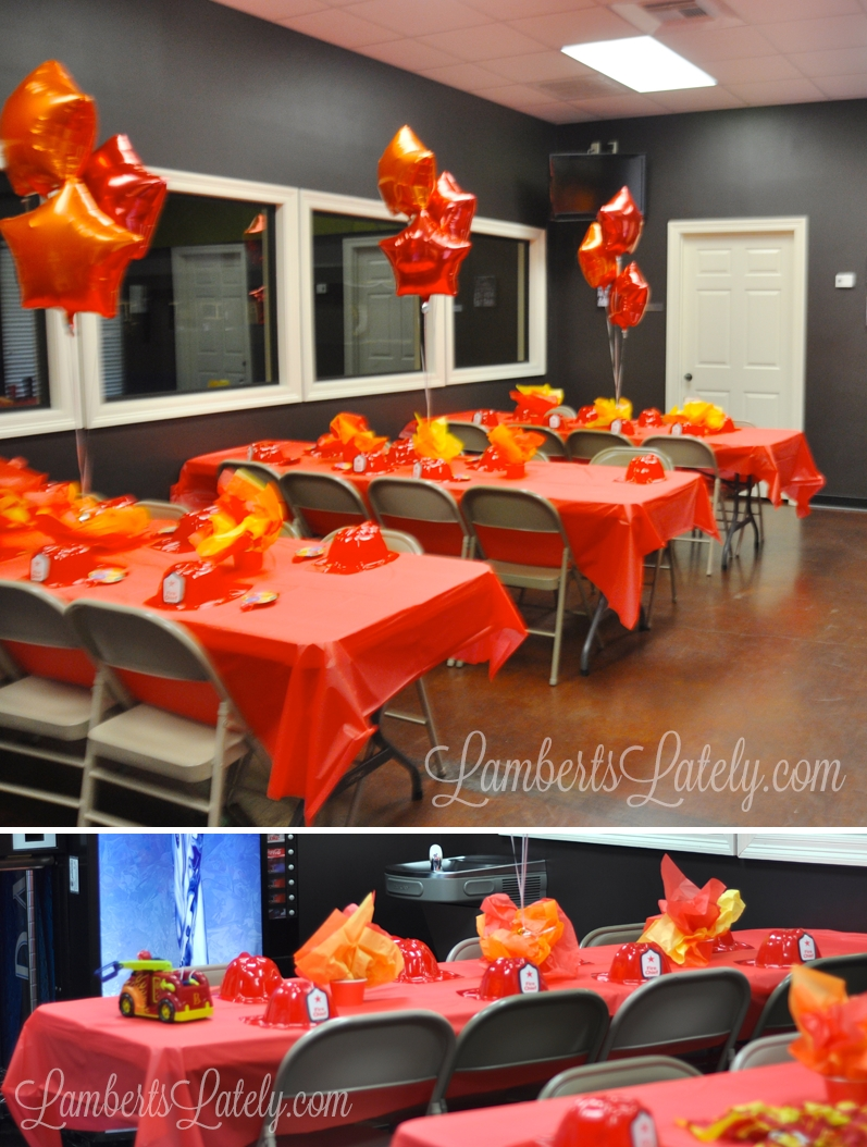 10 Awesome Fire Truck Birthday Party Ideas emma rameys firetruck 3rd birthday party fire engine firemen and 2020