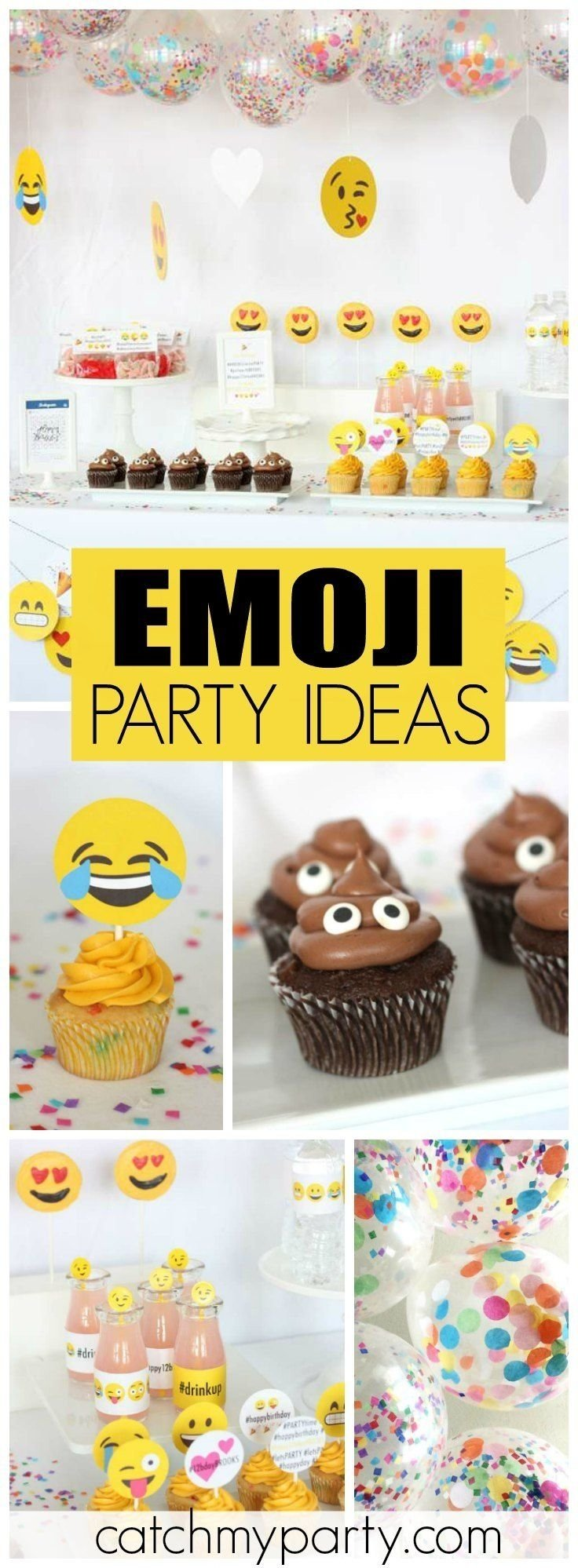 10 Most Popular 12Th Birthday Party Ideas For Girls emoji birthday emoji instagram party instagram girls girl 2021