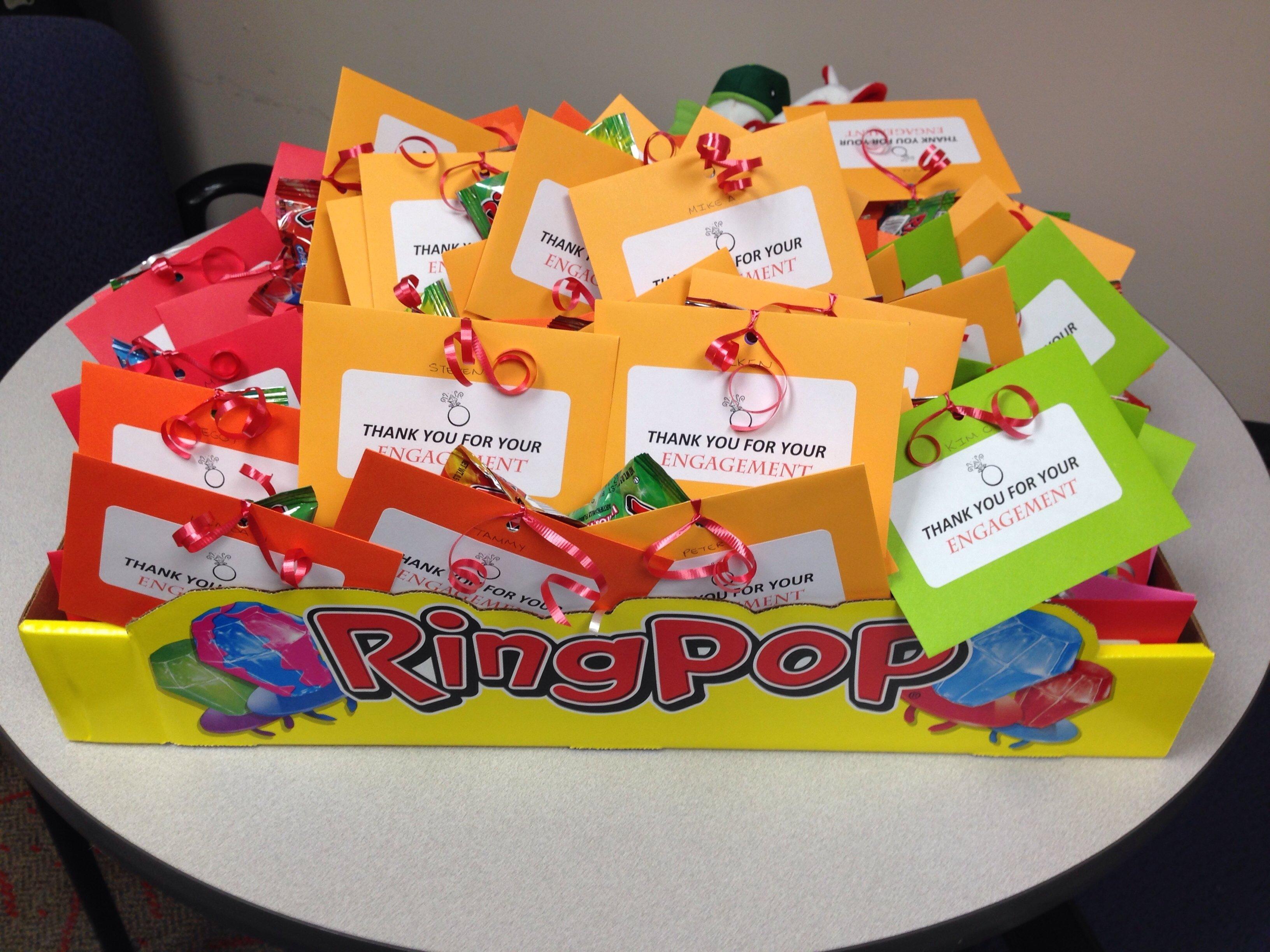 10 Fantastic Employee Appreciation Day Ideas Events employee appreciation ring pop idea my own creations pinterest