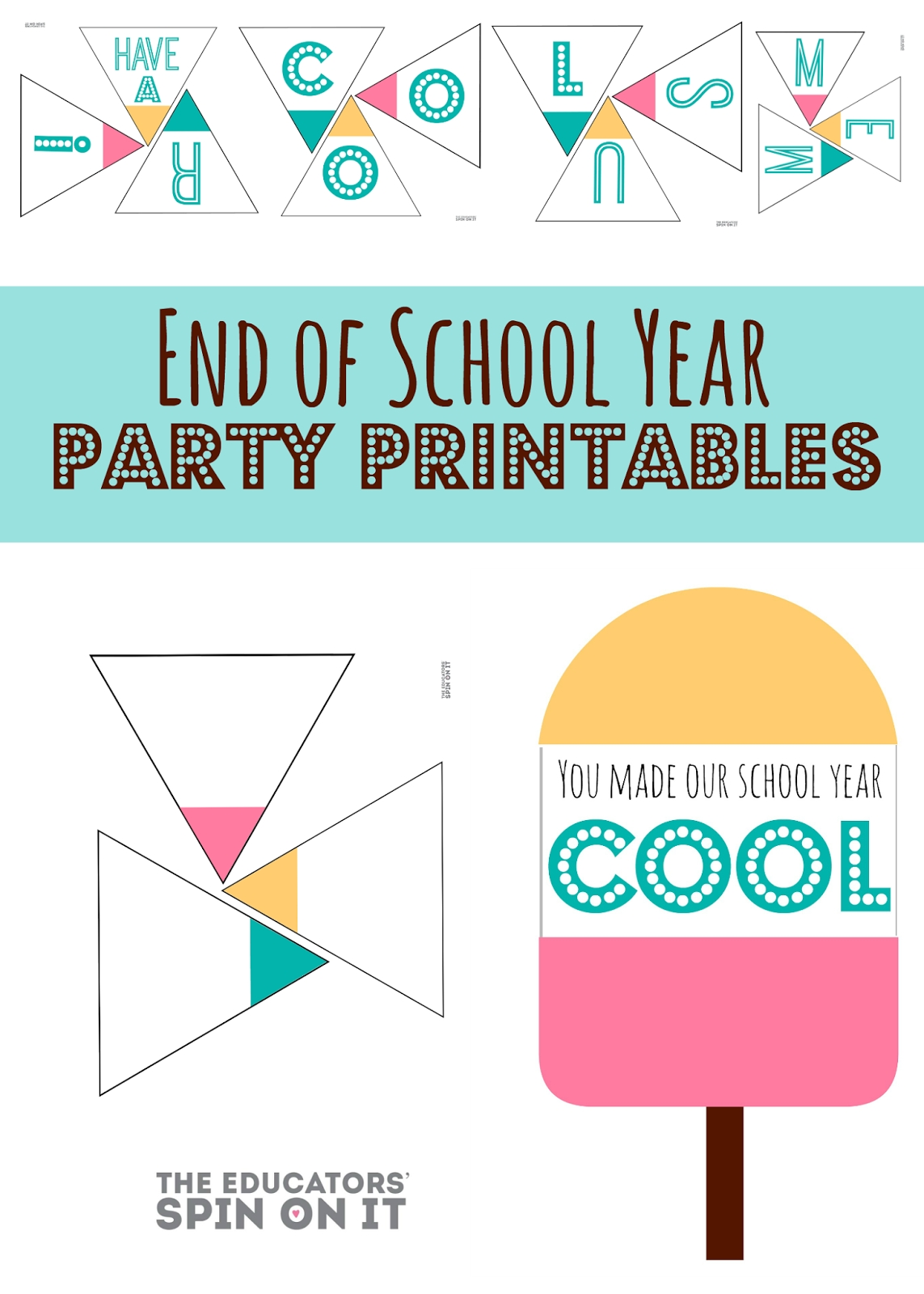 10 Cute End Of Year School Party Ideas end of school year party idea for school school teacher and