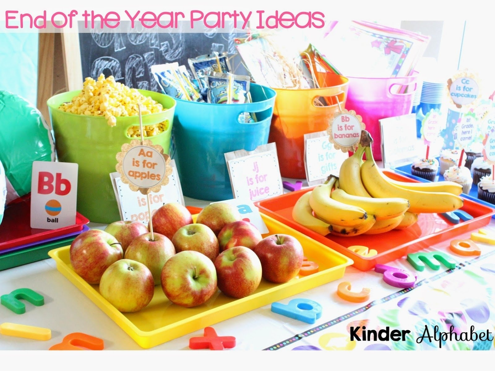 10 Fantastic End Of The Year Party Ideas end of the year party ideas kindergarten awesome collection of 2020