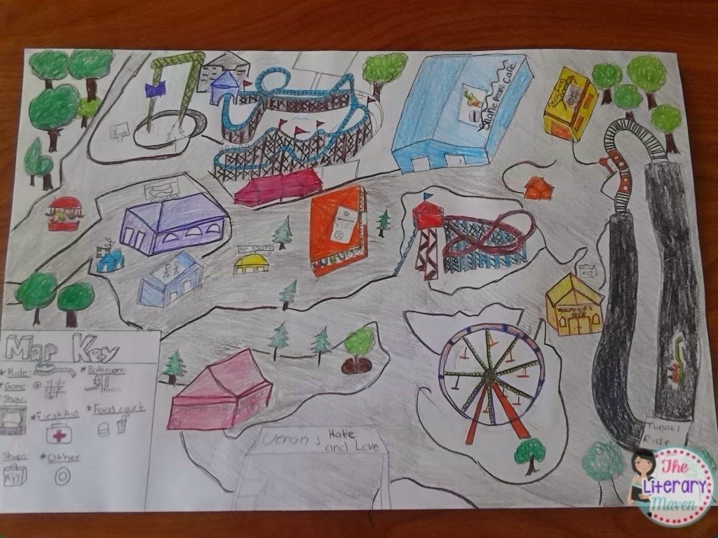 10 Perfect Romeo And Juliet Project Ideas end of the year project idea literary theme park the literary maven 1 2020
