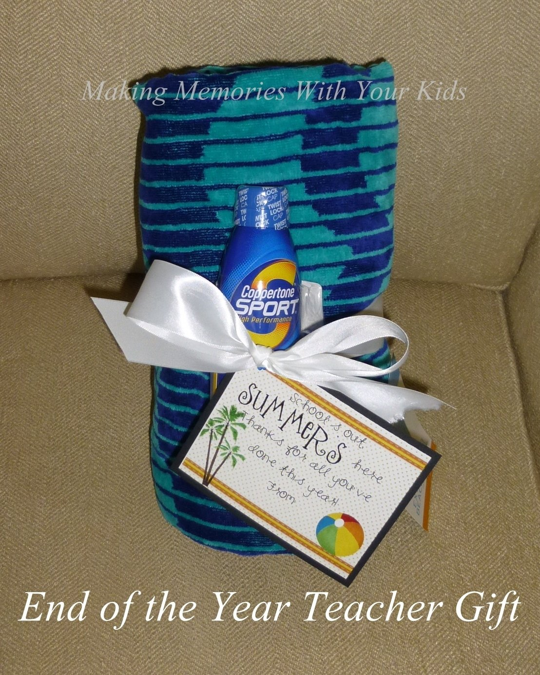 10 Pretty End Of The Year Gift Ideas For Teachers end of the year teacher gift idea making memories with your kids 3
