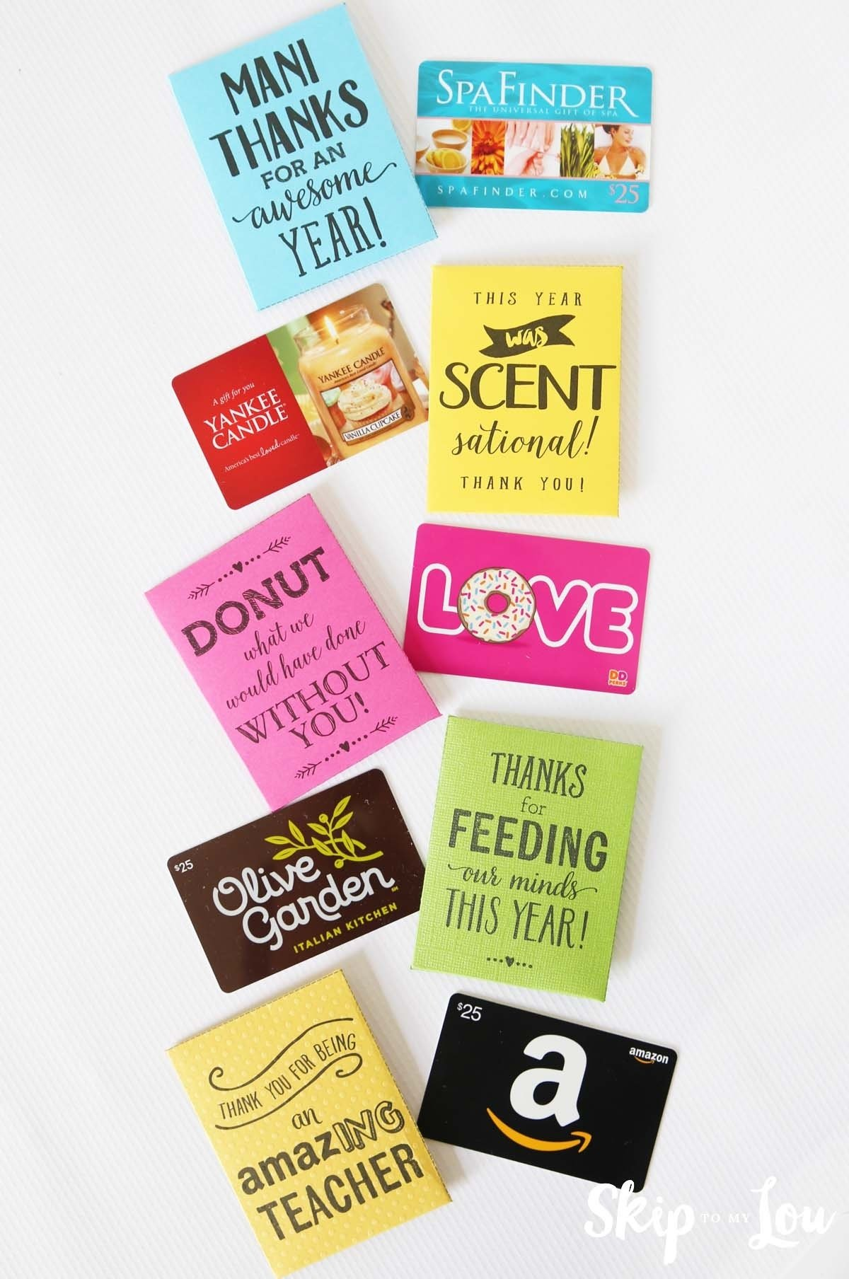 10 Stunning Gift Card Ideas For Couples end of the year teacher gifts skip to my lou 1 2021