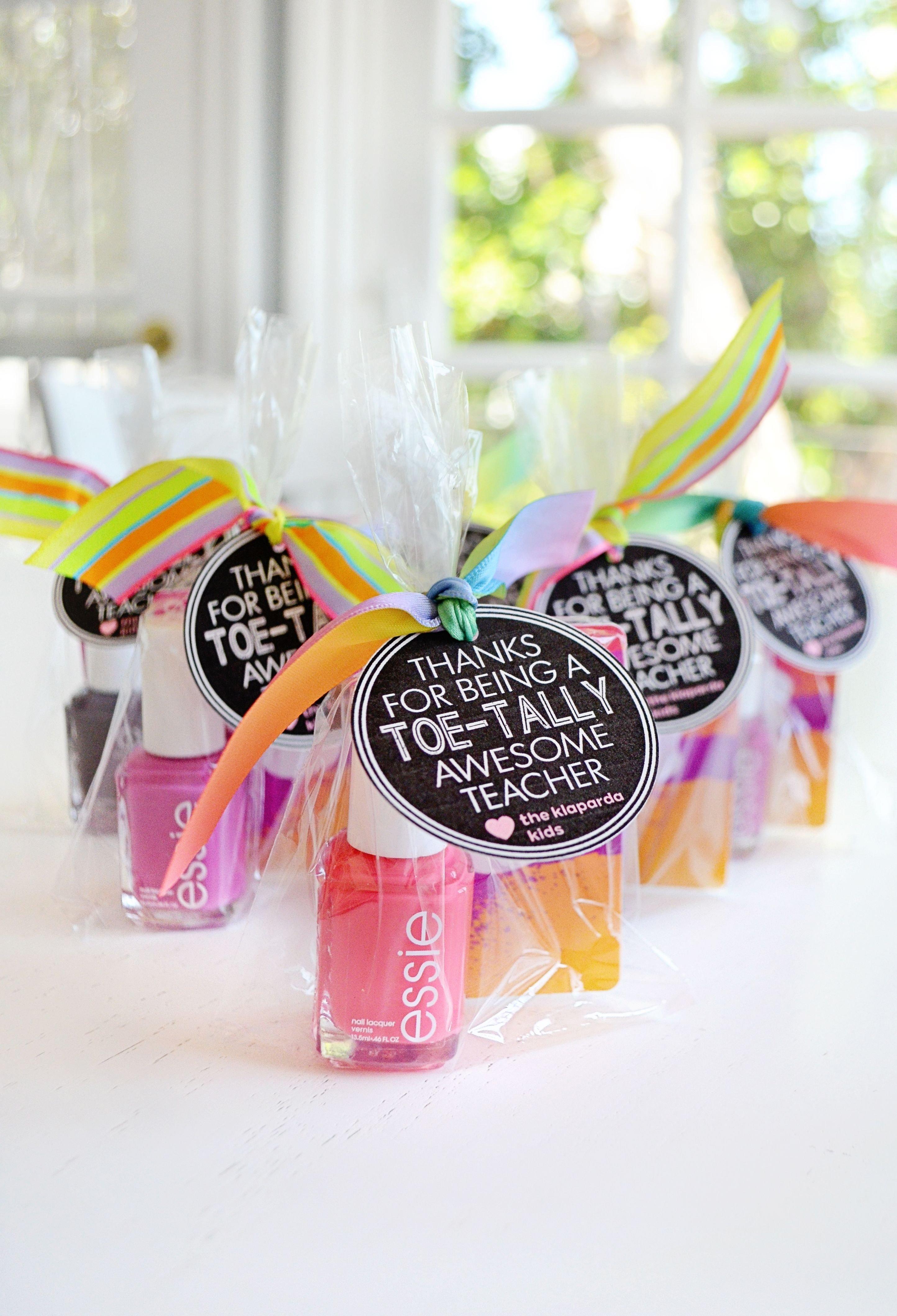 10 Spectacular Gift Ideas For Preschool Teachers end of year teacher gift ideas pedicures teacher and gift 2021