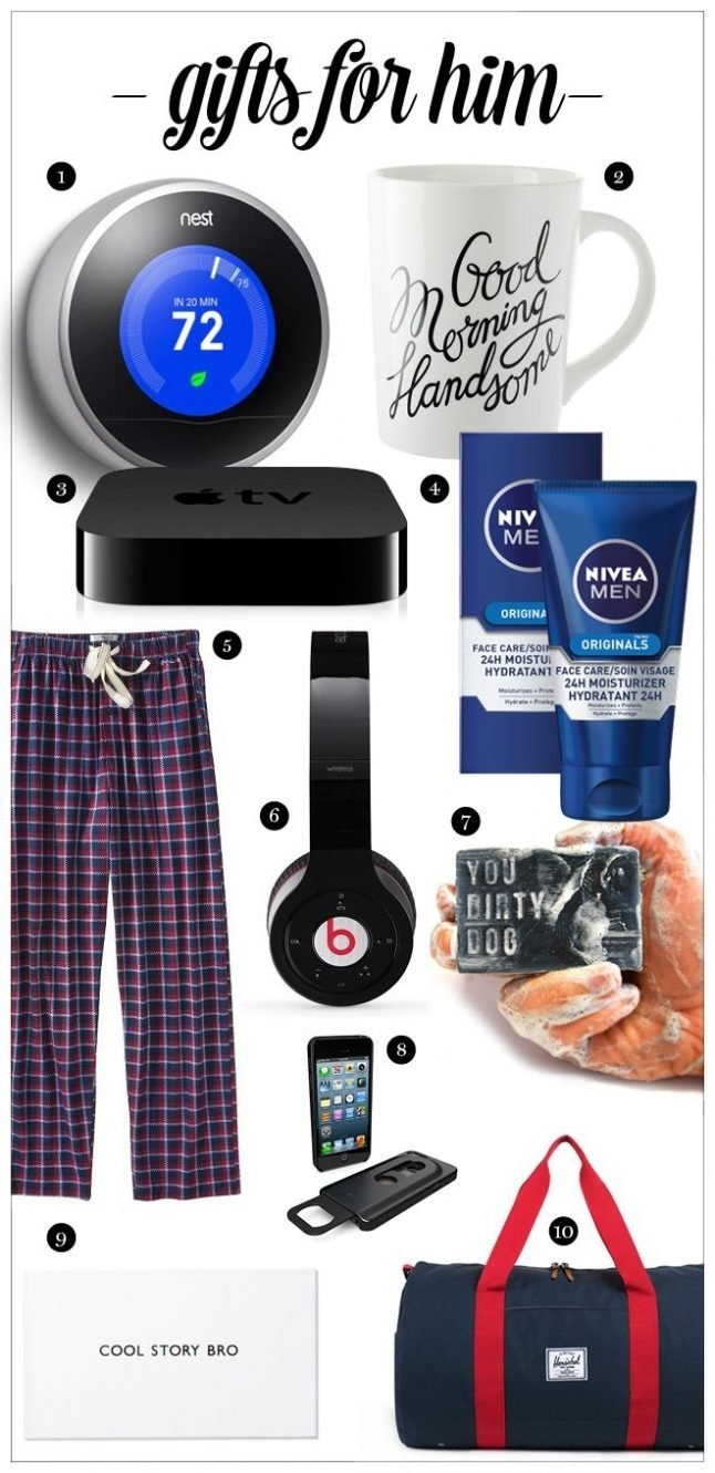 10 Perfect Christmas Present Ideas For Guys