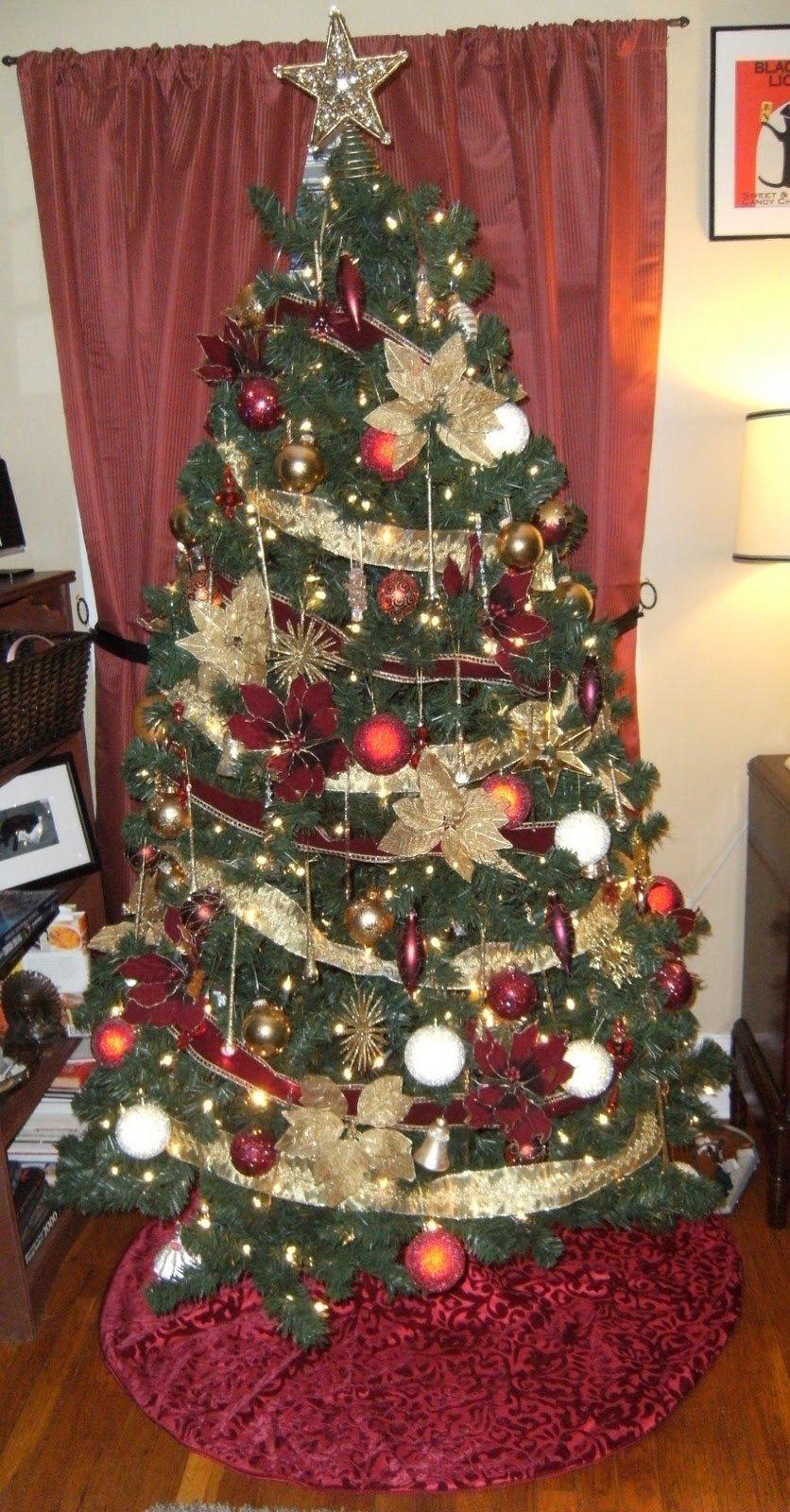 Best Ever Christmas Tree Decoration Ideas Red And Gold Zachary Kristen