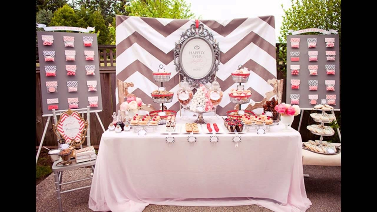 10 Most Recommended Engagement Party Ideas On A Budget engagement party at home decor ideas youtube 1 2021