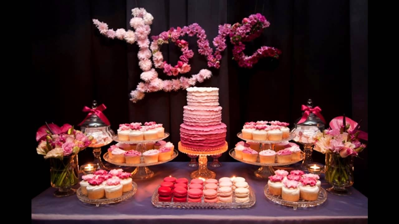 10 Stylish Engagement Party Ideas At Home engagement party themes decorations at home ideas youtube 2021