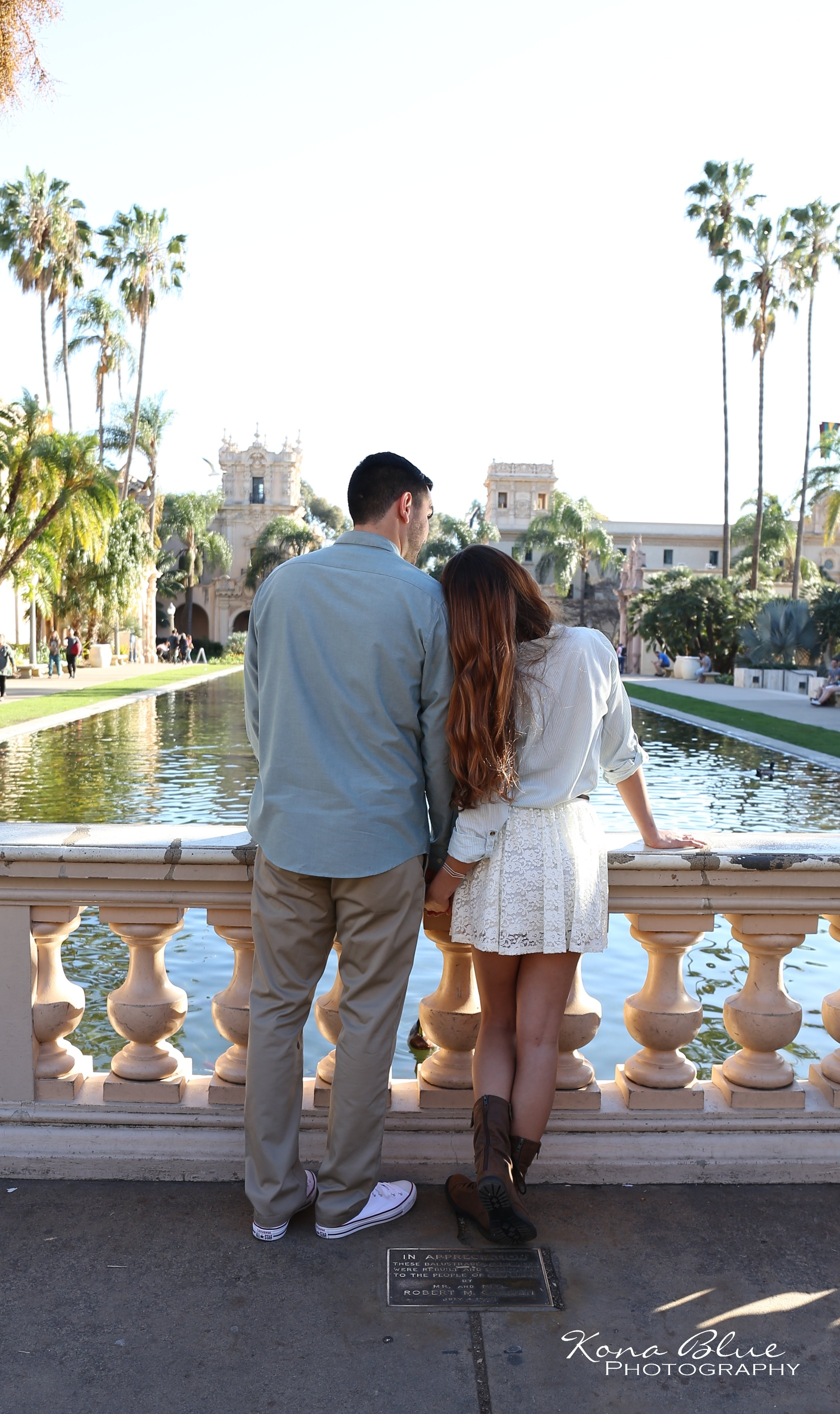10 Elegant Romantic Date Ideas San Diego engagement save the date photography ideas in balboa park san diego 1 2020